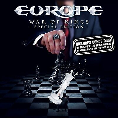 Europe - War Of Kings (Special Edition)  Cd + Dvd New