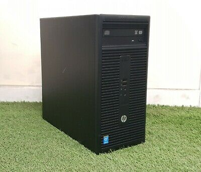 Fast Cheap HP 280 G1 MT PC Computer i3 4th Gen 3.60GHz 8GB 1TB DVD RW Windows 10