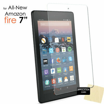 "1x CLEAR Screen Protector Cover for Amazon Fire 7"" 9th Generation 2019 Tablet"