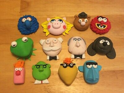 Sesame Street Characters (MADE TO ORDER) Cake Decoration Topper Edible Figures