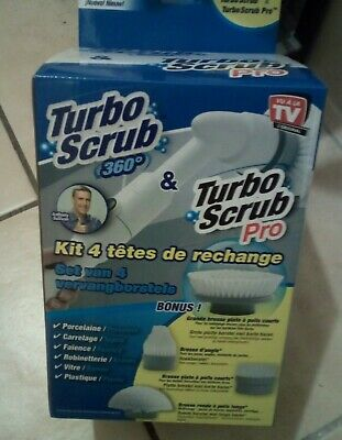 Brosses De Rechange Turbo Scrub