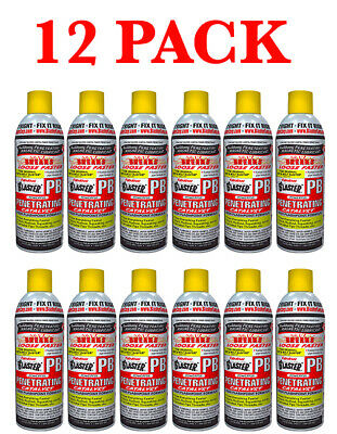 12 Pack PB Blaster 16-PB Rust Free Penetrating Catalyst 11oz New Free Shipping
