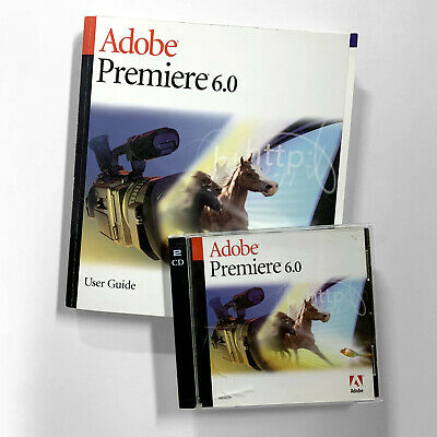 Adobe Premiere 6.0 User Guide, Paperback 2000, NEW/Unused, Quick Reference Guide