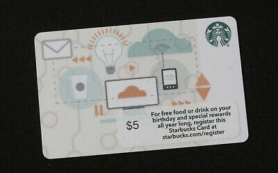 STARBUCKS *** CORPORATE *** Gift Card ~ NO $ Value On Card