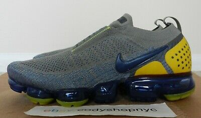DS Nike Air Vapormax Flyknit Moc 2 Dark Stucco Navy mens run trainer AH7006-004