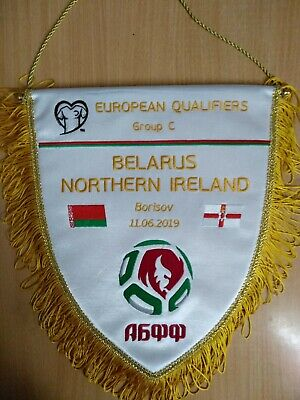 BELARUS NORTHERN IRELAND 11 June 2019 Q EURO-2020 official captain pennant