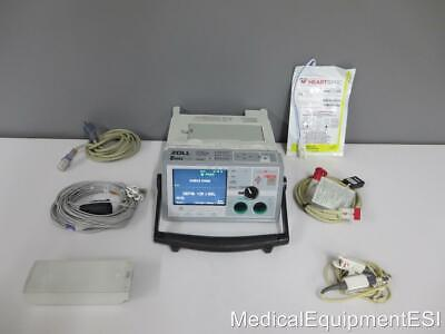 ZOLL E Series Biphasic 12 Lead ECG SpO2 Co2 Analyze Pacing AED ETCo2 BLS