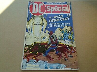 DC SPECIAL #6 The Wild Frontier Neal Adams cover DC Comics 1970 VG