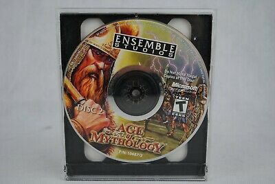 Age of Mythology PC CD-ROM 2006 Microsoft Vintage Retro Computer Game