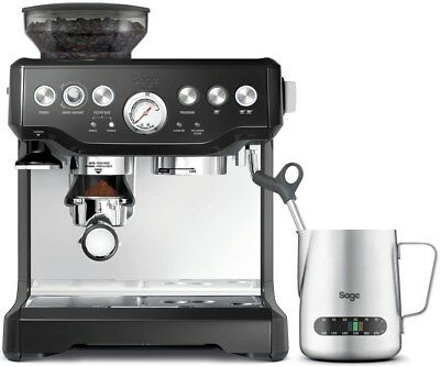 Sage Appliances SES875BKS2EEU1A The Barista Express schwarz (Espressomaschine)
