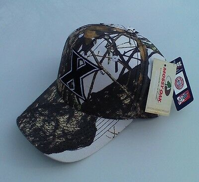 newest a7161 2a6ac XAVIER MUSKETEERS Basketball MOSSY OAK Camo Camouflage Hunting Baseball Hat  NWT