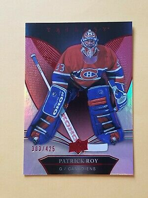 2018-19 Upper Deck Trilogy Red Foil Parallel #50 Patrick Roy #/425