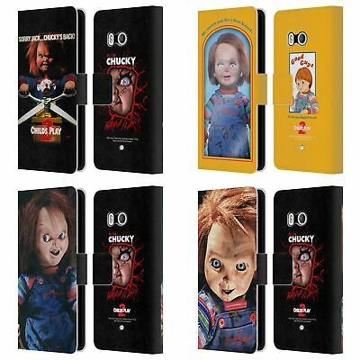 Official Child's Play Ii Key Art Leather Book Wallet Case Cover For Htc Phones 1