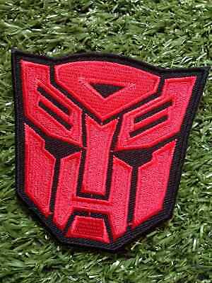 TRANSFORMERS MOVIE Charecter RED Color Embroidered Craft Patch Iron on Sew