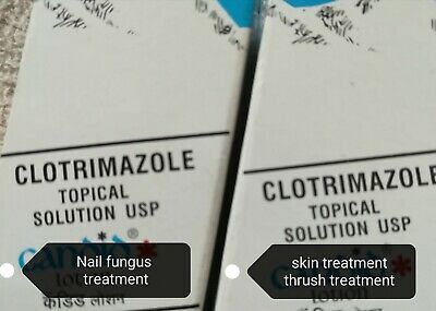 🇬🇧 Clotrimazole topical solution , skin and nail fungus treatment 30ml 🇬🇧
