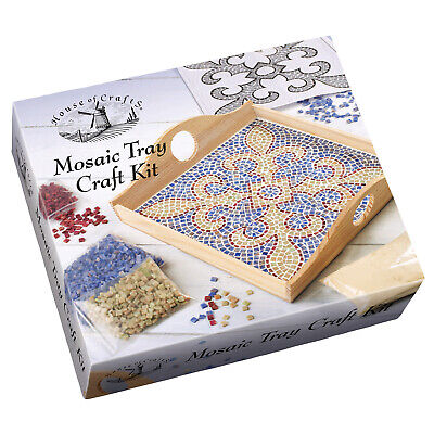 House of Crafts Mosaic Tray Craft Kit