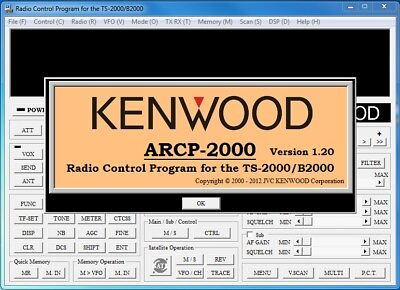 KENWOOD TS-2000 RADIO Transceiver, Dynamic Impedance Mic 600Ω