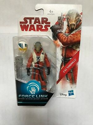 Star Wars The Last Jedi Force Link CAI C'ai Threnalli X Wing Figure New E0524