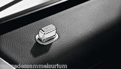 Mercedes Benz AMG Original 2x Tür Pin eckig C 216 - CL Coupe Neu OVP