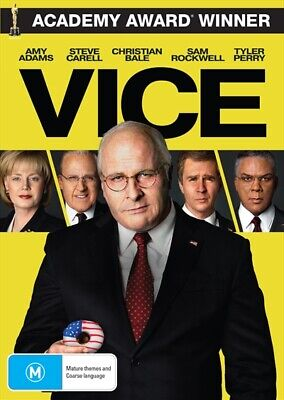 Vice (DVD, 2019) NEW
