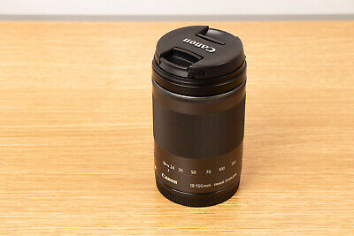 Canon EF-M 18-150mm f/3.5-6.3 STM IS Lens for EOS M3 M5 M6 M10 M100 M50 - Mint!