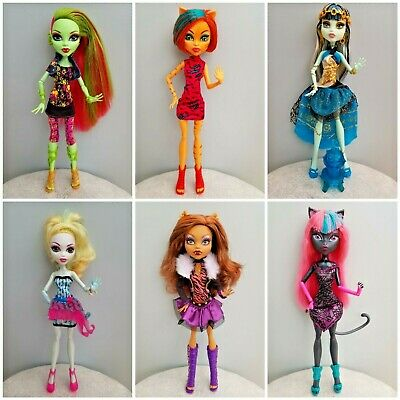 MONSTER HIGH DOLLS - Choose Your Doll - All Series - Pay Once For Postage!