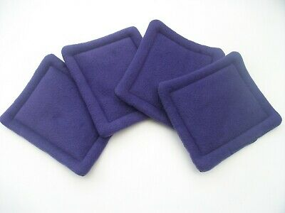 4 purple wee pads pee pads guinea pig bed cage liner