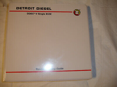 DETROIT DIESEL TROUBLESHOOTING ECM Code Problems Manual 6SE496