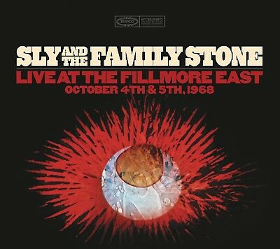 Sly&The Family Stone-Live At The Fillmore East October 4Th & 5Th 1968 4 Cd New