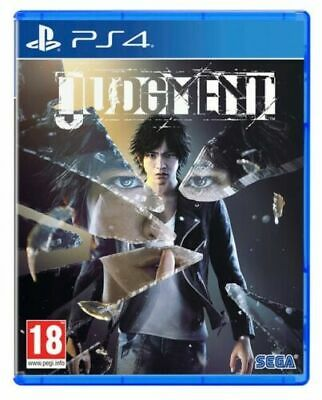 Judgment Ps4 Videogioco Play Station 4 Italiano Gioco Yakuza Nuovo Sigillato