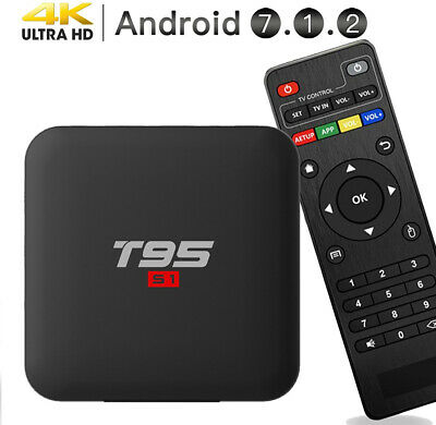 2019 Newest Android 7.1.2 TV Box,EASYTONE T95 Boxes Quad-core 1GB DDR3/8GB...