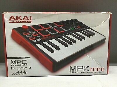 Akai MPK Mini Compact Keyboard And Pad Controller Free Shipping!!!