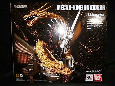 Pre-owned S.H. Monster Arts Godzilla Mecha King Ghidorah Figure Japan