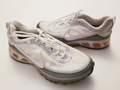 0f7645c706 Nike 2007 Air Max 360 II White Pink Silver Running Shoes 315410-162 Womens  Sz