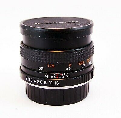 Yashica ML 50mm F2 with Contax-Yashica Mount
