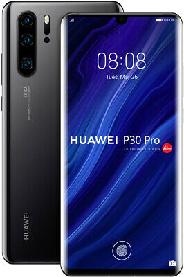Huawei P30 Pro 8GB 128GB Single Sim Black, TOP Zustand