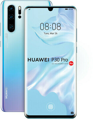 Huawei P30 Pro 8GB 128GB Single Sim Breathing Crystal, NEU Sonstige