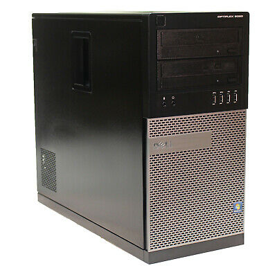 Dell OptiPlex 9020 Tower 4th Gen Quad i5-4570 3.2GHz 16GB 512GB SSD DVDRW W10P