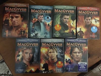 Macgyver : The Complete Series Season 1/2/3/4/5/6/7 New Sealed Dvd Set All 7 New