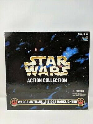 MICRO MACHINES STAR WARS ACTION FLEET REBEL PILOT BIGGS DARKLIGHTER