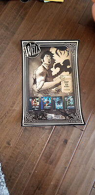2018 Sdcc Comic Con Exclusive H G Wells The War Of The Worlds Poster 11 X 17