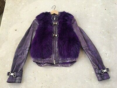 d1d41ee9380 COLLECTIBLE ICONIC PYTHON Fur Jacket Tom Ford For Gucci Size 40 It ...