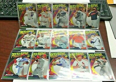 2019 Topps Finest Prized Performers Lot 15 w/Bryce Harper,Christian Yelich,Votto