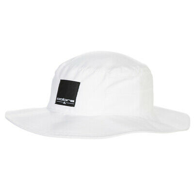 a5469110dea7f3 Cobra Sun Bucket Hat Mens Fitted White Cap New 2019 - Choose A Size