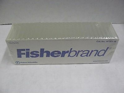 Fisher Scientific 14-961-26 Disposable Culture Tube Pack Of 250 New