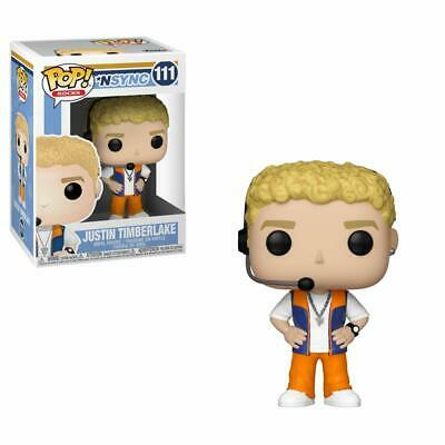 Funko Pop! Rocks: Nsync - Justin Timberlake 111 34538 Vinyl Figure In Stock