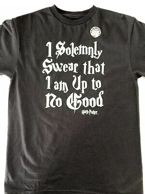 5d81d7910 Harry Potter I Solemnly Swear Up To No Good Glow in the Dark T shirt Youth