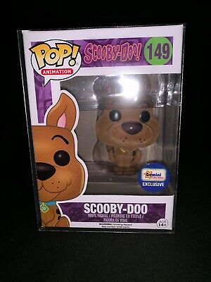 Funko Pop Animation Scooby Doo Vinyl Figure #149 Gemini Flocked. W/ PROTECTOR
