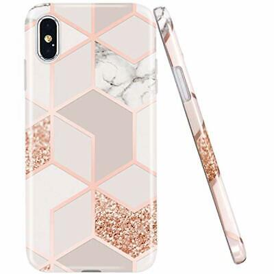 Jaholan Coque Iphone X Coque Iphone Xs Bling Glitter Sparkle