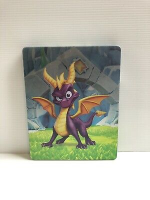Spyro Reignited Trilogy Steelbook + Game (For Xbox One).  LIKE NEW CONDITION